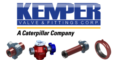 Kemper Hammer Union, Plug Valve, Pup Joint, and Seal O Grip Union