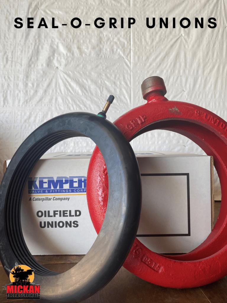 Kemper Seal-O-Grip Unions