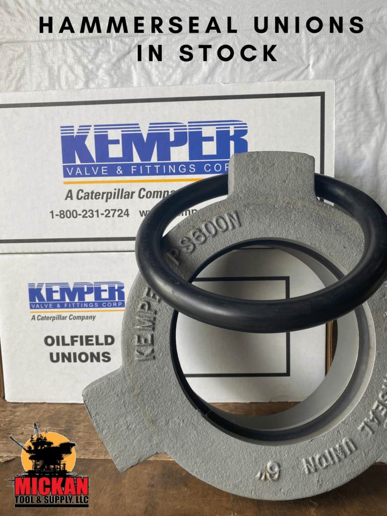 Kemper Hammerseal Unions